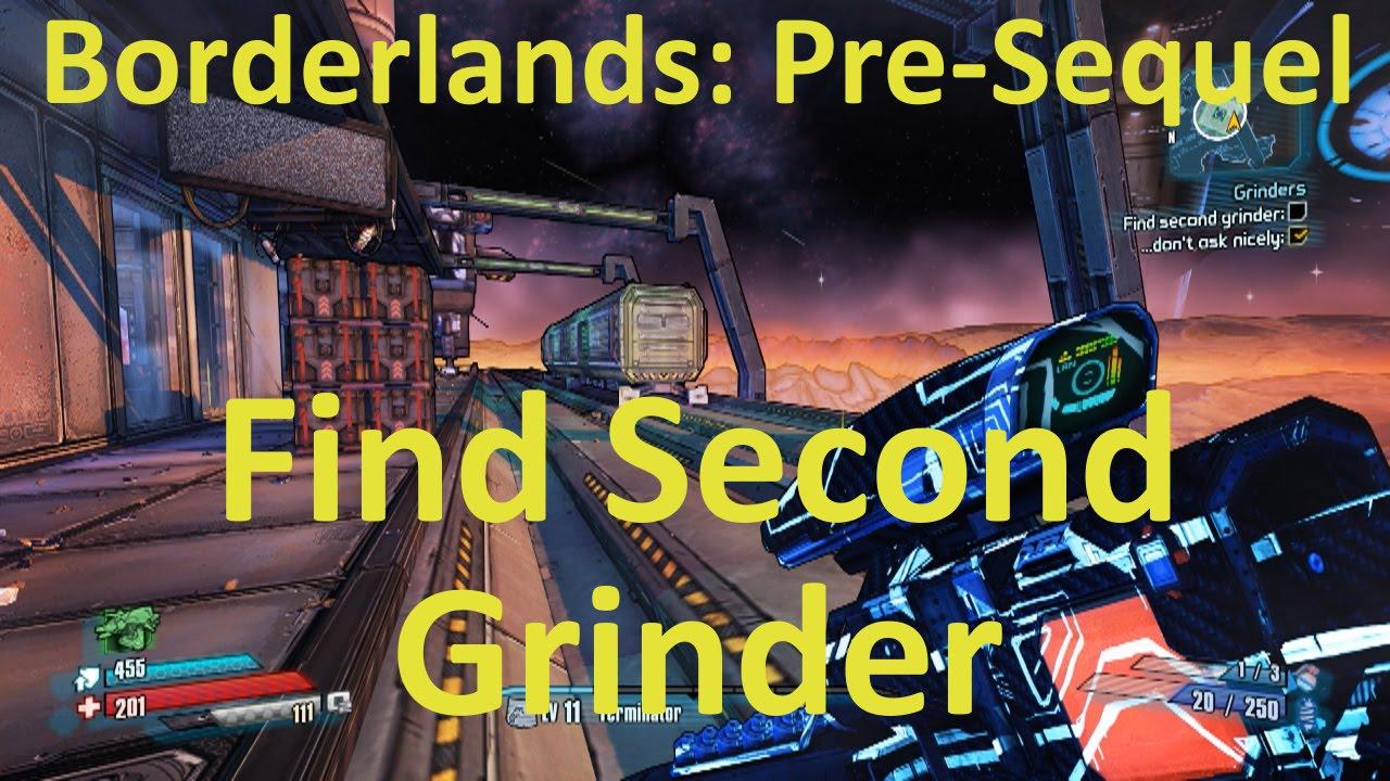 grinder not working borderlands