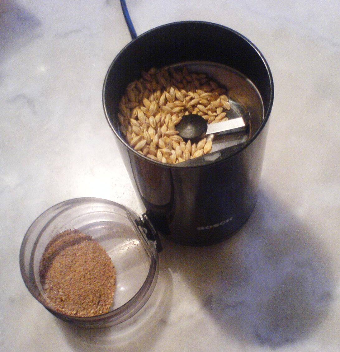 moulin à café graine de lin