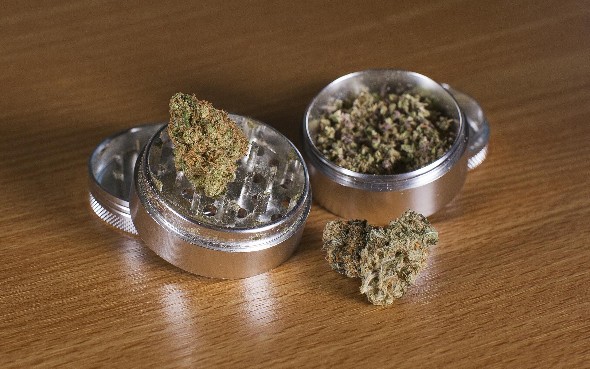 grinder weed