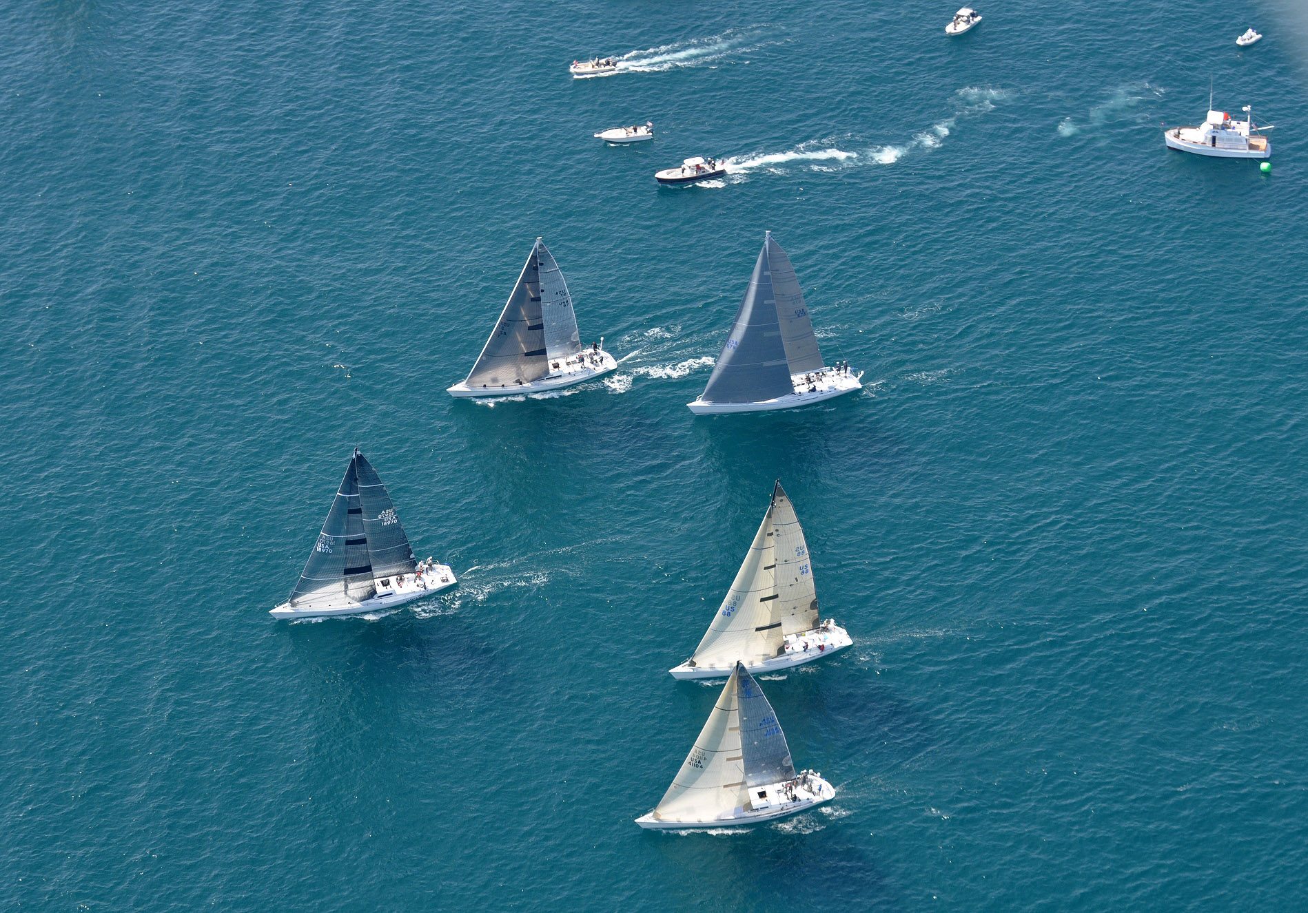 world cup yacht racing