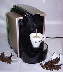 fonctionnement cafetière