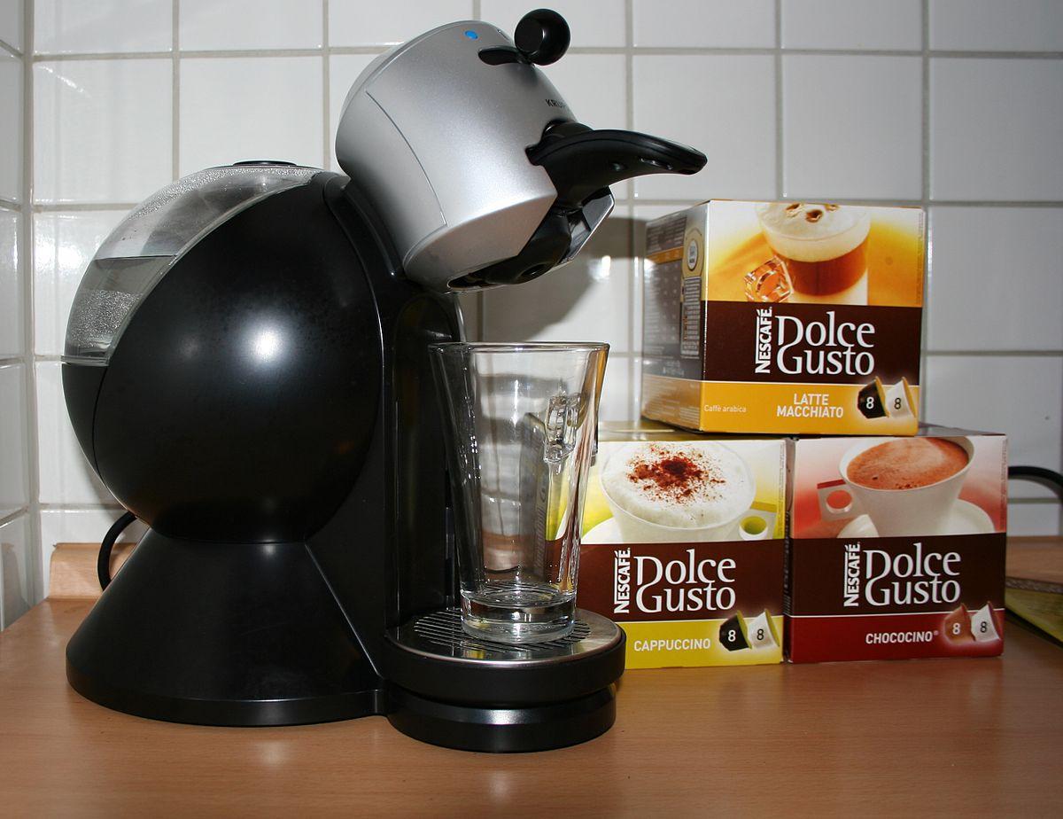 nouvelle cafetière dolce gusto